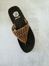 Yellowbox Louise Bronze Sandals Size 6.5M