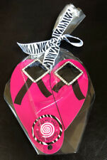 Footsielicious Flip Flop Fun Bling Rhinestone Shoe Charms dazzle your shoes NEW