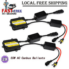 AC 12V Pro Canbus HID Ballast 55W Replacement error light warning canceller 2PCS
