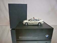 MINICHAMPS BMW M3 COUPE E46 SAFETY CAR MOTO GP 2002 - 1:43 - GOOD IN DEALER BOX