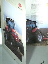 DEPLIANT TRACTEUR AGRICOLE MASSEY FERGUSON 1994 SERIE 9240