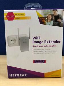 *NEW* Netgear AC1200 Dual band WIFI Range Extender (EX6150-100PES)