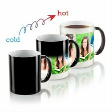 Personalised Heat Colour Changing Magic Mug with Your Image Photo Logo Text 11oz