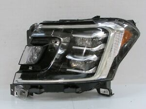 2018 2019 2020 FORD EXPEDITION FACTORY OEM LEFT DRIVERS LED HEADLIGHT SILVER R3