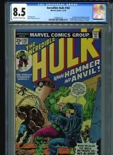 Incredible Hulk #182 CGC 8.5 (1974) First 1st Hammer & Anvil and 3rd Wolverine