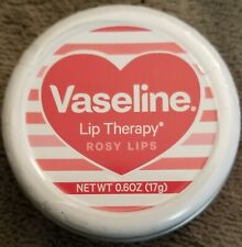 Vaseline Lip Therapy~Rosy Lips~Pretty tin with a heart on it