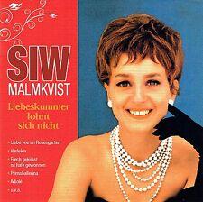(CD) Siw Malmkvist -Liebeskummer Lohnt Sich Nicht,Harlekin, Danke Für Die Blumen