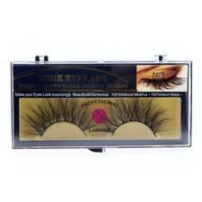 3D Mink Extra Long 25mm Crisscross Thin False eyelashes Eye Makeup Lashes D803