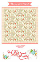 """Hugs and Kisses Fab 5 Pattern by The Quilt Factory 64"""" X 64"""""""