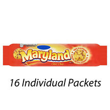 MARYLAND CHOC CHIP BISCUITS COOKIES 145g x 16 PACKETS WHOLESALE RETAIL 224315