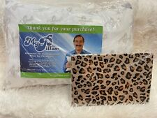 My Pillow Roll & Go Travel Pillow & Leopard Pillowcase NWT - FREE Shipping!!