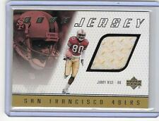 JERRY RICE 1999 UPPER DECK GAME JERSEY
