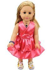 New Handmade Doll Clothes for 18'' American Girl Doll Princess Dress Skirt