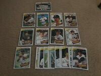 1980 Topps Detroit Tigers Team Set (27) Trammell Morris Whitaker NrMt