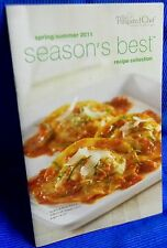 Pampered Chef Season's Best Reciepe Collection Cookbook Spring/Summer 2011