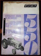 TRATTORE FIAT 550 catalogo parti di ricambio
