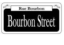 New Orleans Bourbon Street Vintage style street Sign Reproduction USA Sign