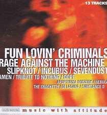FUN LOVIN CRIMINALS / RAGE AGAINST THE MACHINE / SLIPKNOT+  ROCK SOUND CD 9