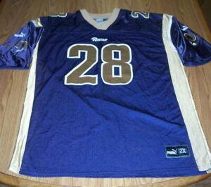 St. Louis Rams - Marshall Faulk Football Jersey - #28