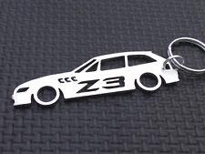 BMW Z3 COUPE keyring HARDTOP 2.8 3.2 3.0 M 1:18 E36 M3 ROADSTER keychain emblem