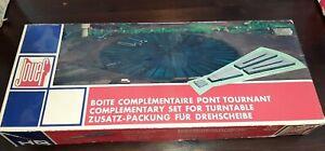 Jouef, ho, maquette boite complémentaire au pont tournant 1024. Boite