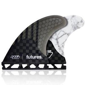 HS2 V2 Generation Thruster Surfboard Fin Set In Medium Futures Fins