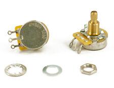 1 CTS 550k 10% tol. USA audio taper SHORT shaft POT fits Gibson Les Paul BEST!