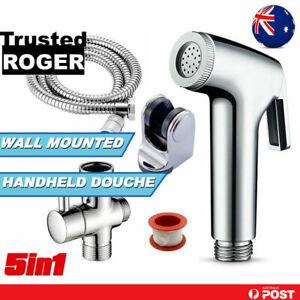 Bidet Toilet Sprayer Spray Douche Shattaf Shower Head Hose Kit Handheld Bathroom