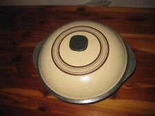 Vintage Club Aluminum Harvest Yellow / Gold Dutch Oven With Lid