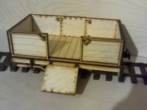 SEVEN EIGHTH SCALE OPEN WAGON
