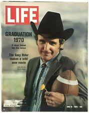 Vintage LIFE Magazine Graduation Easy Rider New Movie June 19 1970 Vol. 68 No 23