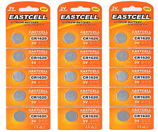 15 x CR1620 3V Lithium Knopfzelle 70 mAh ( 3 Blistercard a 5 Batterien )EASTCELL