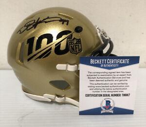 Deforest Buckner Signed Autographed San Francisco 100th  Mini Helmet BECKETT COA