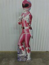 Vintage Original 1994 Kimberly Pink Power Ranger Lifesize Cardboard Standee 63.5