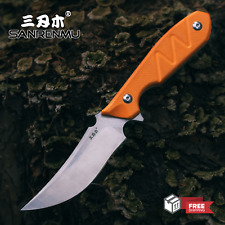 Sanrenmu S755 Fixed Blade Knife 8CR13MOV With Sheath Outdoor Camping Survival