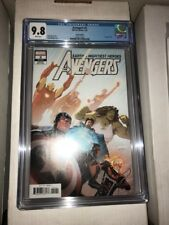 Avengers (Volume 7) #2 Marquez variant CGC 9.8 Captain America Black Panther
