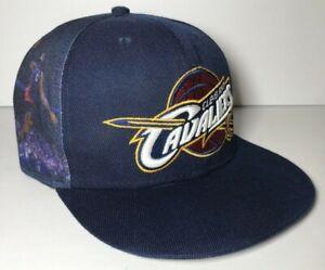 New Era 9Fifty Cleveland Cavaliers Hardwood Classics Snapback Hat Lebron Graphic