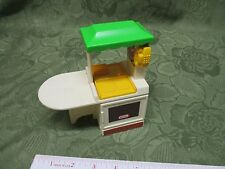 Little Tikes DOLLHOUSE Size Play Doll House Kitchen Toy Stove Sink Oven fridge G