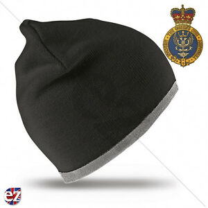 The Queens Own Mercian Yeomanry - Beanie Hat with Embroidered Badge