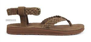 Teva Original Sandal Suede Braid Bison Sandals Womens Size 8 *NIB*