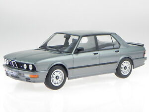 BMW e28 M535i 1986 delphin grey modelcar 183261 Norev 1:18