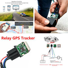1x Car Relay GPS Tracker GSM Locator Remote Control Anti-theft Monitoring System