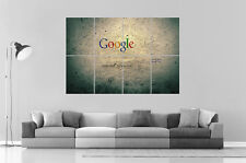 Google page vintage wall art poster large format a0 long print