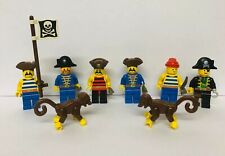 Lego Pirate MiniFigures Pirates Monkey Captain Hook Flag Weapons Lot