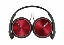 Sony Headphones MDR-ZX310APR Wired Foldable Stereo Headset Earphones - Red