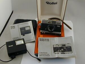 Rollei B35 Camera Outfit in Rollei Case - Made in Germany