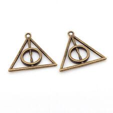 5 x Tonalità Bronzo Harry Potter I Doni Della Morte Ciondolo per collana