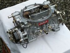 New Listingedelbrock 1406 Performer Series 600 Cfm Electric Choke Carburetor