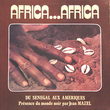 AFRICA...AFRICA Du Sénégal Aux Amériques, Jean Mazel FR Press Cauri C 20.000 LP