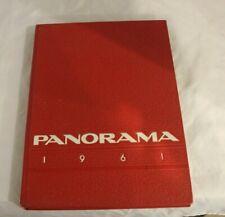 1961 Panorama Defiance High School Year Book Defiance, Ohio